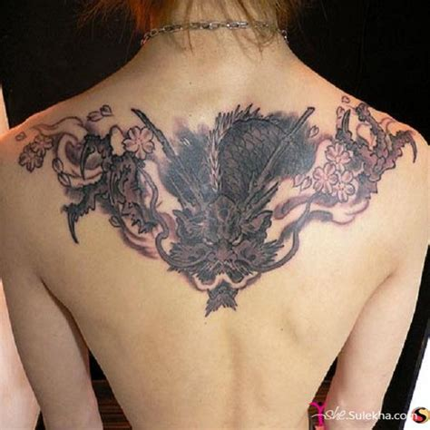 dragon tattoo on woman dragon tattoo for women photo picture 9747