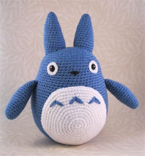 amigurumi pattern totoro blue totoro amigurumi crochet pattern by lucy collin