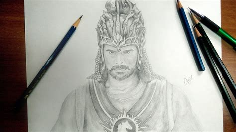 Bahubali 2 Sketches by Bahubali 2 Speed Drawing