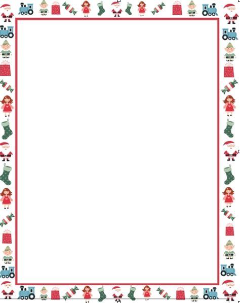 Christmas Letter Border Letter Template Letter Template Border