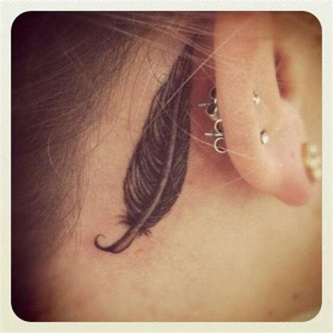 tattoo behind ear sore 1000 ideas about feather tattoo ear on pinterest wolf