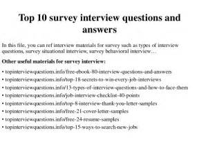 Kitchen Design Questionnaire top 10 survey interview questions and answers