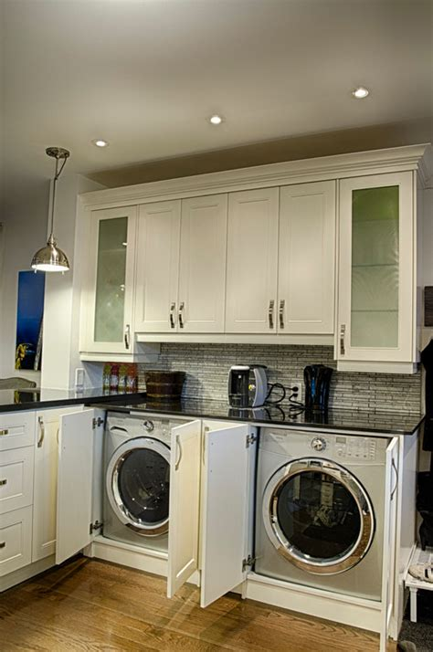 washer dryer in kitchen laundry room solutions queen bee of honey dos