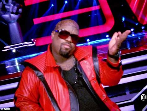 cee lo green head tattoo the voice 2013 cee lo green debuts intricate