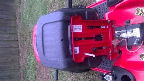 craftsman mower seat switch how to by pass seat switch on lawn mower
