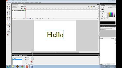 tutorial macromedia flash youtube tutorial macromedia flash 8 animated glowing text youtube