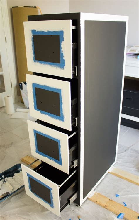 chalkboard paint on metal 1000 ideas about painted file cabinets on