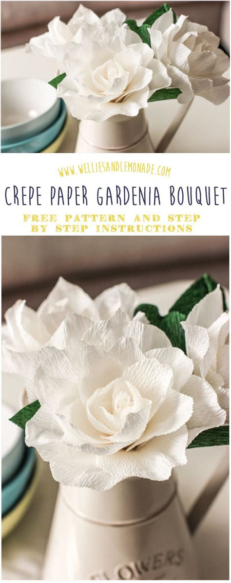 gardenia paper flower tutorial 10 images about diy crafts and ideas with paper on