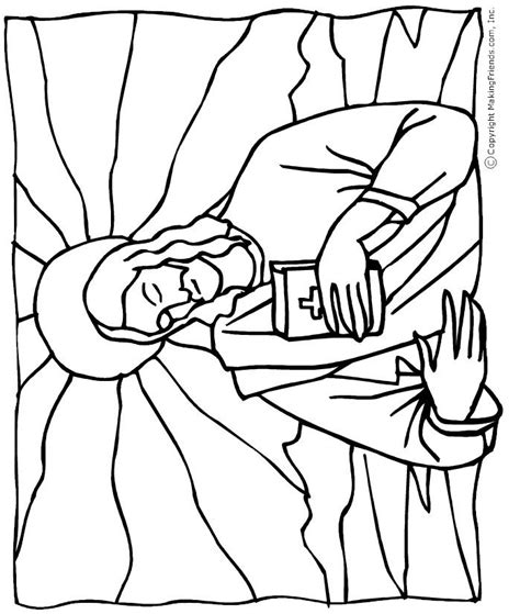 coloring page jesus heals bleeding jesus with the bible coloring page bible crafts