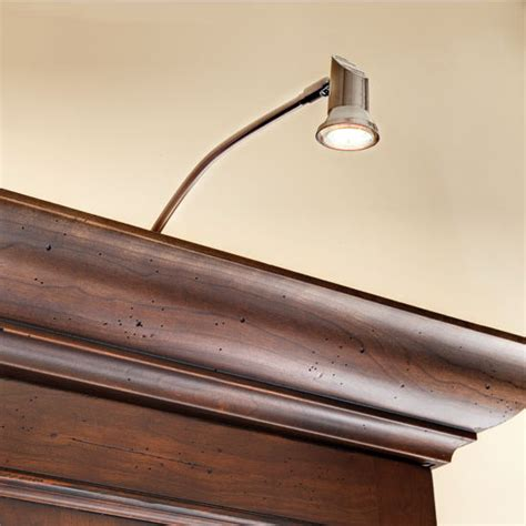 hafele select 12v led swan neck over cabinet light kit