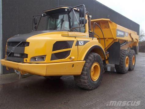 volvo af rigid dump trucks year   sale mascus usa