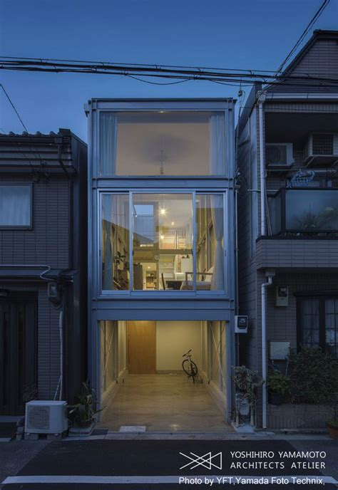 narrow homes narrow house in osaka japanese architecture