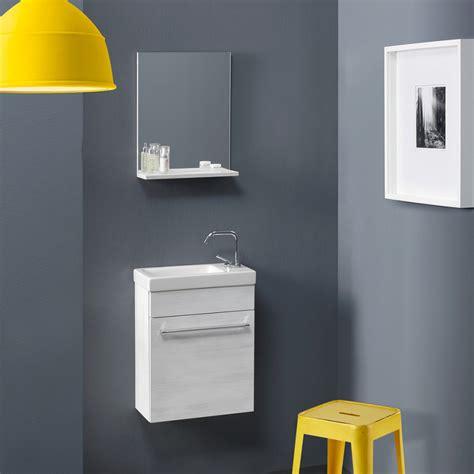 spazio bagno mobile bagno salvaspazio economico smart in rovere bianco