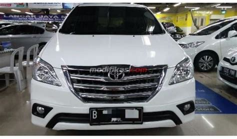 Toyota Innova G Manual Bensin 2015 toyota innova g manual bensin km18ribu