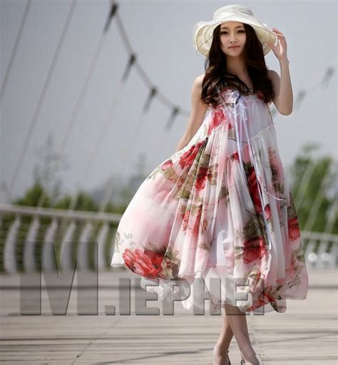 Promo Fashion Murah Fahrani Dress discount boho maxi dress 2013 fashion chiffon bohemian maxi dress white print maxi