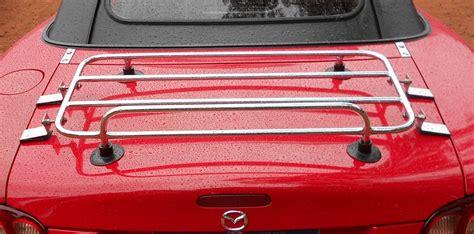 Mazda Miata Luggage Rack by Classic Temporary Luggage Racks