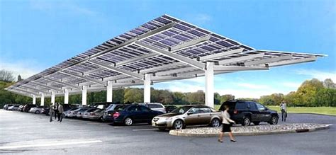 Cool Garage Designs bluebird solar powered ev eco transport service stations