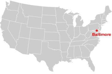 baltimore usa map maps united states map baltimore