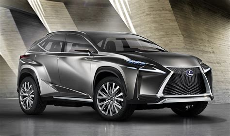 suv lexus lexus nx suv previewed by radical concept photos caradvice