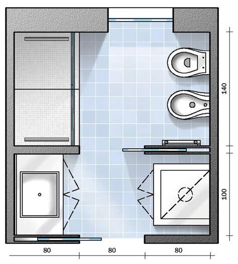 progetti per bagni bagno con pianta progetto e costi dei lavori prima
