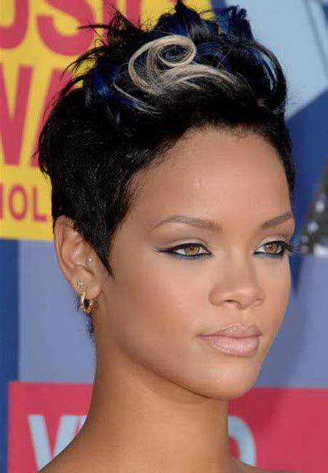 black ladies with round face hair style short haircuts for black women with round faces short