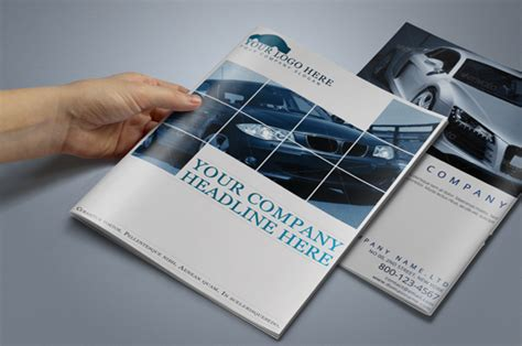 Car Brochure Template by Car Brochure Templates 19 Free Pdf Psd Ai Vector