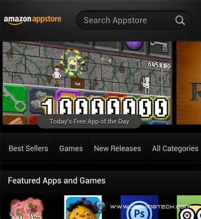how to get free android apps/games using amazon appstore