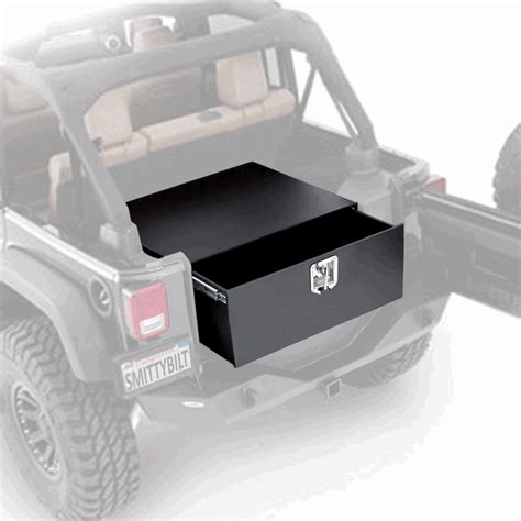 jeep wrangler 2 door storage all things jeep security storage vault for jeep wrangler