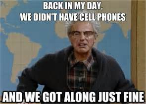 Old Cell Phone Meme - bad reputation exploring millennial communication stereotypes