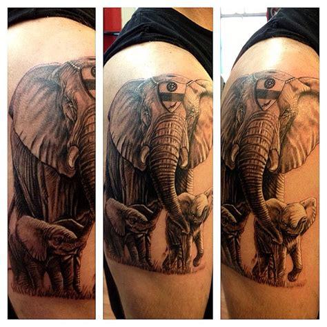 tattoo fixers elephant 47 elephant family tattoos