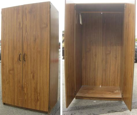Wood For Closets by Portable Wood Closets Sale Ideas Advices For Closet