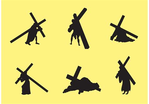 Delightful Church Music Positions #10: Jesus-carrying-the-cross-vectors.jpg