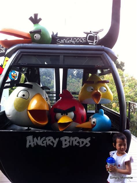 Angry Birds Auto by Angry Birds Cable Car Ride To Sentosa Simply Mommie