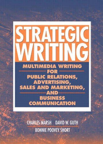strategic writing multimedia writing for relations advertising and more books grossman just launched on usa marketplace pulse