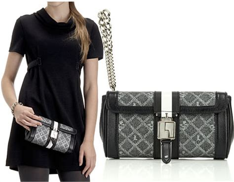 The Signature Chateau Wristlet Clutch by The L A M B Signature Chateau Wristlet Clutch