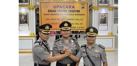 Teh Pucuk Satuan akbp leonard sinambela resmi pimpin tim anti bandit polrestabes surabaya teras jatim