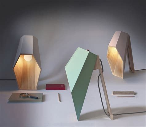 Unusual Table Lamps by Unique Woodspot Table Lamp Of Pine Digsdigs