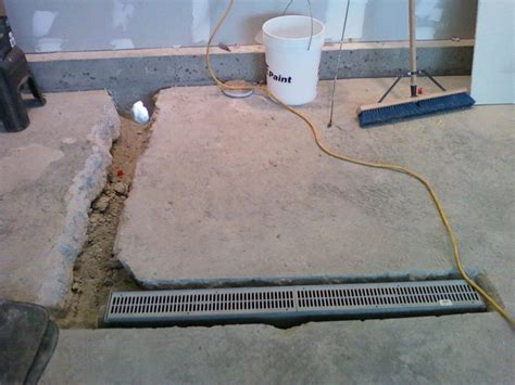 How To Install A Garage Floor Drain by Garage Floor Drain Houses Flooring Picture Ideas Blogule