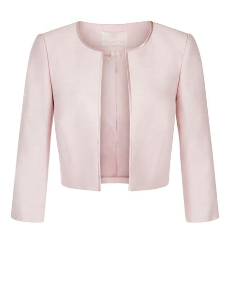 light pink jacket pink cropped jacket coat nj