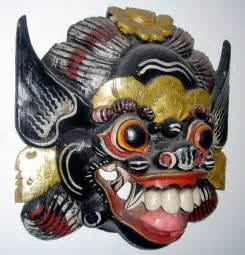 Masker Indo masks bali indonesia pictures photos