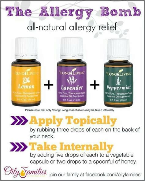 allergy remedies allergy relief essential oils