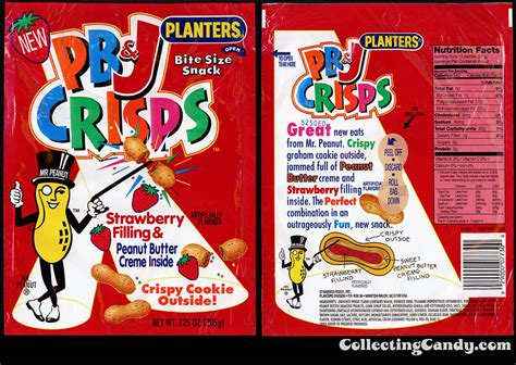 Happy National Pb J Day From Collectingcandy Com Planters Pb Crisps