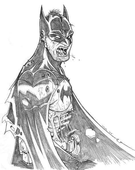 zombie batman coloring pages how to draw zombie batman