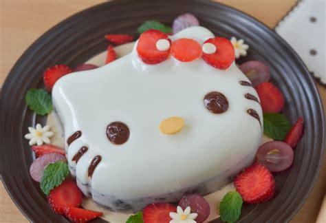 membuat puding hello kitty resep puding hello kitty berry lucu enak resep cara masak