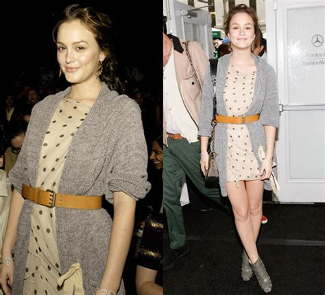 Style Leighton Meester by My Makeup Box Style Stalker Leighton Meester