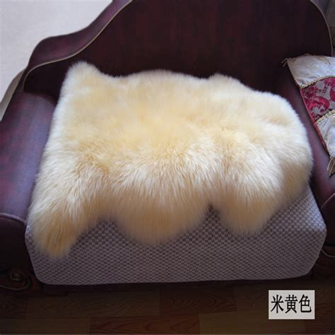 Sheepskin Rug On Sofa by Aliexpress Buy New Genuine Merino Sheep Skin Fur