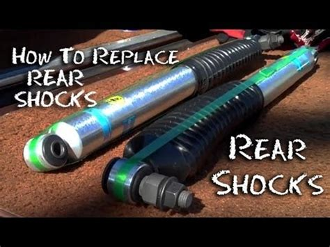 how to replace rear shocks buyautoparts com youtube how to replace rear shocks gmc truck replace install shock absorbers half idiots guide youtube