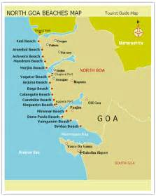 beaches map map of goa beaches search engine at search