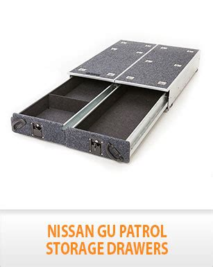 Gu Patrol Drawers by New Nissan Gu Patrol Rear Steel Frame Storage Drawers