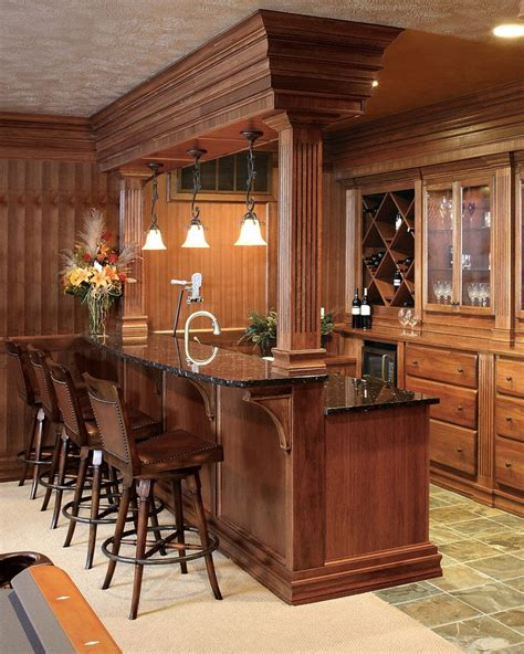 bar ideas for finished basement home ideas pinterest caves bar and molding ideas